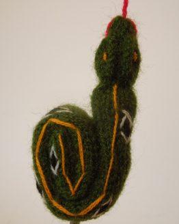 Schlange Grün