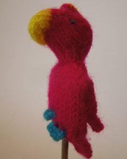 Papagei pink